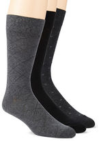 Calvin Klein Three-Pack Dress Socks