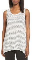 Eileen Fisher Women's Striated Linen Blend Knit Tank