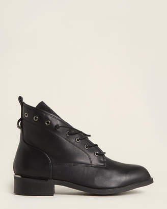 Wanted Black Cuvee Embellished Ankle Boots