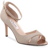 Nina Flo Ankle-Strap Evening Sandals