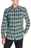 Lucky Brand Men's Santa Fe Western in Plaid