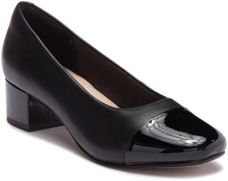 Clarks Chartli Diva Leather Pump - Wide Width Available