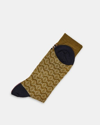 Ted Baker Geometric Pantherella Socks