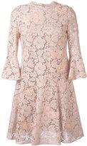 Valentino bell sleeve lace dress - women - Cotton/Polyamide/Viscose - 42
