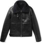 Jil Sander - Shearling Flight Jacket