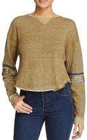 Free People Harper Embellished Sweatshirt