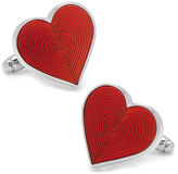 JCPenney Red Heart Cuff Links