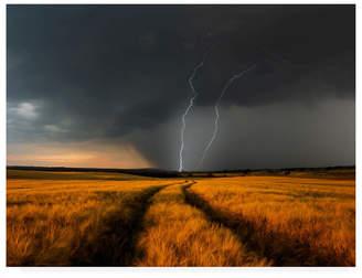"Schumacher Nicolas Wetterfront Storm Canvas Art - 15"" x 20"""