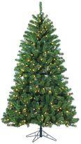 Gerson 7-ft. LED Montana Pine Light-Up Artificial Christmas Tree