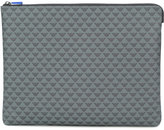 Emporio Armani logo print clutch bag - men - Polyamide/Polyurethane - One Size