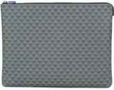 Emporio Armani logo print clutch bag