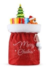 Mr. Christmas Fabric Santa Bag with Mold Toys