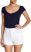 Velvet Torch Short Sleeve Knit Bodysuit