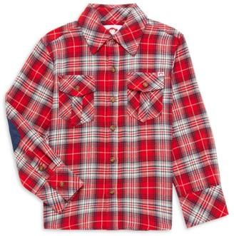 Appaman Little Boy's & Boy's Flannel Plaid Shirt