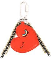 Sonia By Sonia Rykiel - blinking heart keyring - women - Leather/metal - One Size