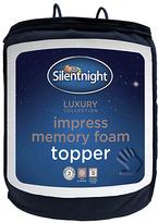 Silentnight 2.5cm Memory Foam Mattress Topper - Kingsize