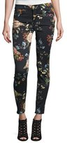7 For All Mankind The Ankle Skinny Floral-Print Jeans, English Botanical