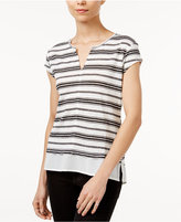Sanctuary City Remix Striped Contrast T-Shirt