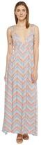 Brigitte Bailey Colette Strappy V-Neck Maxi Dress