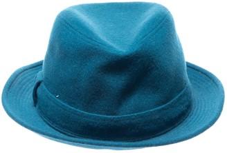 Hermes Blue Wool Hats