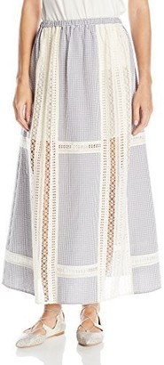 Thakoon Women's Full Maxi Skirt