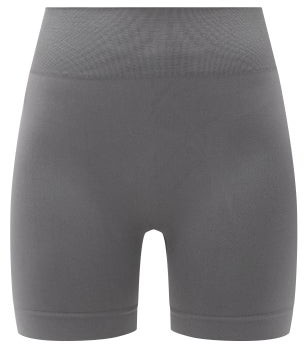 PRISM² Prism - Composed High-rise Stretch-jersey Cycling Shorts - Dark Grey