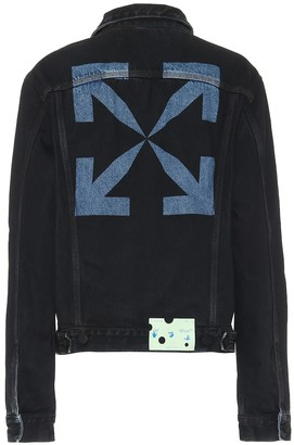 Off-White Logo denim jacket
