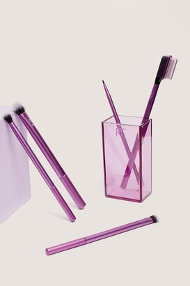 Nasty Gal Womens Real Techniques 5-Pc Cosmetic Eye Brush Set - Purple - ONE SIZE, Purple