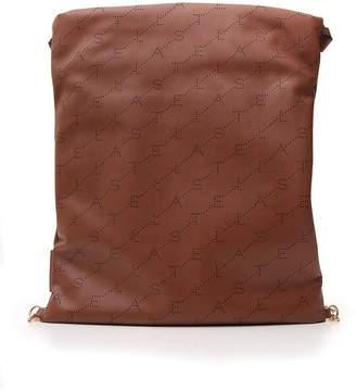 Stella McCartney Faux Leather Drawstring Backpack