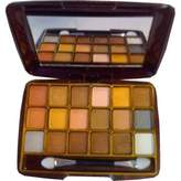 La Femme 18 Colour Powder Shimmer Eyeshadow Palette by