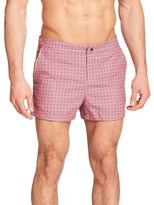 Original Penguin Foulard Printed Swim Trunks