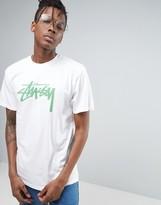 Stussy T-Shirt With Large Logo