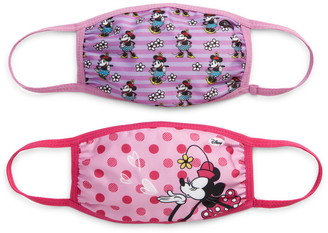 Disney Assorted 2-Pack Kids' Minnie Mouse Face Masks