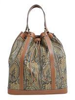 Etro Large Paisley Printed Bucket Bag