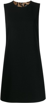 Dolce & Gabbana round neck mini dress