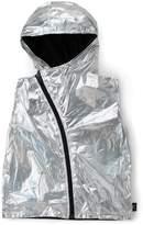 Nununu Kids Nylon Asymmetrical Vest - Silver