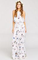 MUMU Princess Ariel Maxi Skirt ~ Bouquet Beauty