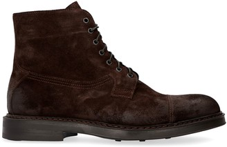 Doucal's Doucals Leather Lace-up Boots