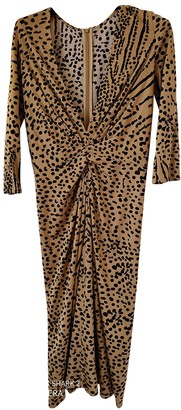 Issa Camel Dress for Women