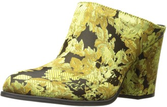 Kenneth Cole Reaction Women's Tap Dance Slip On Bootie Shootie with Western Heel-Satin Ankle