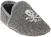 Polo Ralph Lauren Gray Skull Ash Slipper Wool - Infant