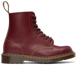 Dr. Martens Burgundy Vintage 1460 Lace-Up Boots
