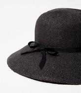 LOFT Straw Cloche Hat