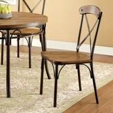 Hokku Designs Maya Cross back Side Chair
