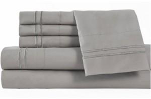 Elite Home Double Marrow King Sheet Sets Bedding