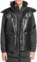Y-3 Metallic Nylon Hooded Down Vest