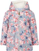 Joules Girls Floral Print Fleece Lined Waterproof