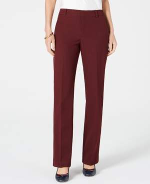 Charter Club Petite Solid Trousers, Created for Macy's