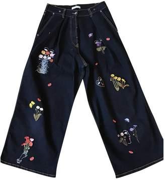 VIVETTA Blue Cotton Jeans for Women