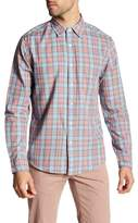 Faherty Ventura Plaid Long Sleeve Regular Fit Shirt